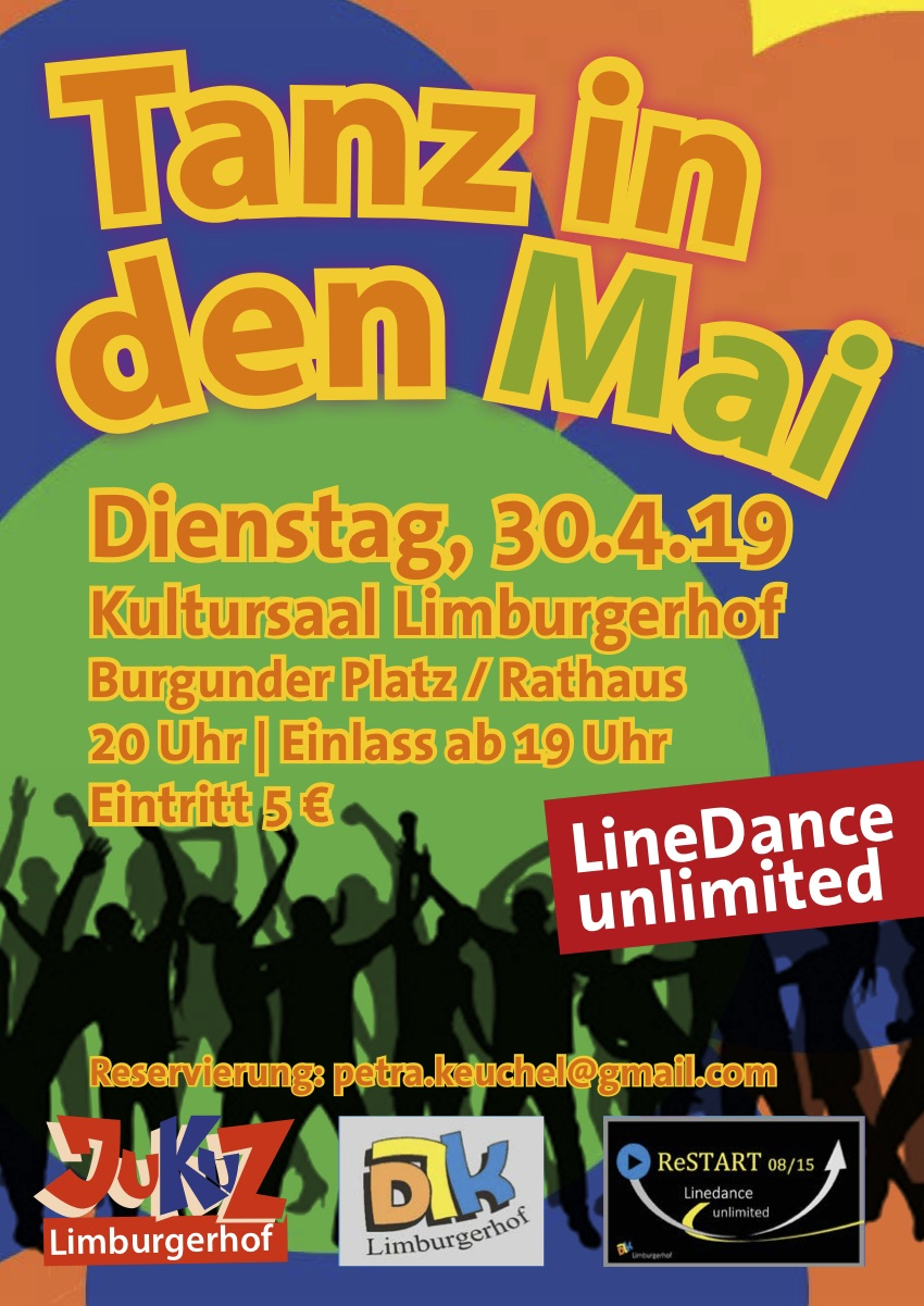 Linedance Tanz in den Mai 2019